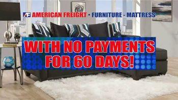 American Freight Warehouse Liquidation TV Spot, 'Bedroom Sets, Mattress Sets and Sofas' - Thumbnail 7