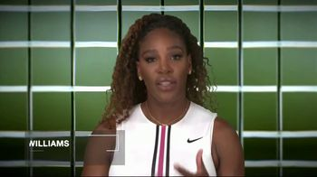 Tennis Industry Association TV Spot, 'Tips: New Racquets' Feat. Serena Williams, Roger Federer - Thumbnail 2