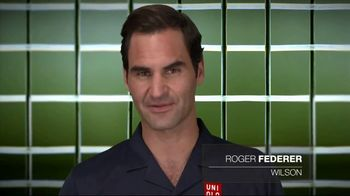 Tennis Industry Association TV Spot, 'Tips: New Racquets' Feat. Serena Williams, Roger Federer - Thumbnail 6
