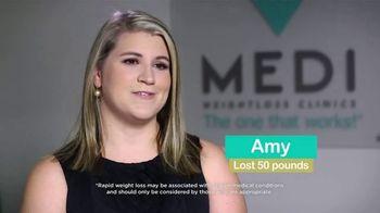 Medi-Weightloss TV Spot, 'Amy'