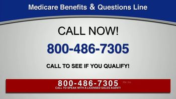 Medicare Benefits & Questions Line TV Spot, 'Anyone on Medicare: Additional Benefits'