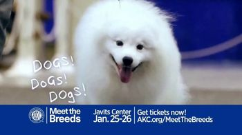 American Kennel Club TV Spot, '2020 AKC Meet the Breeds at Javits Center'
