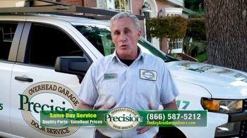 Precision Door Service TV Spot, 'We Understand'
