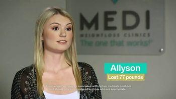 Medi-Weightloss TV Spot, 'Allyson'