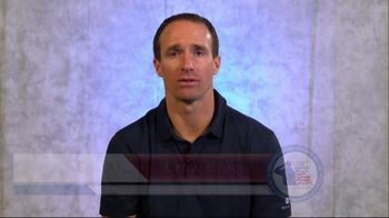 Coalition to Salute America's Heroes TV Spot, 'Veterans and PTSD' Featuring Drew Brees - Thumbnail 3