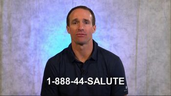 Coalition to Salute America's Heroes TV Spot, 'Veterans and PTSD' Featuring Drew Brees - Thumbnail 8
