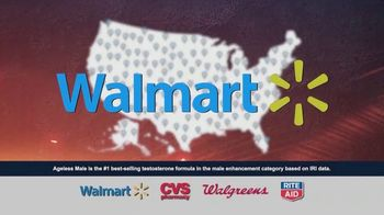 Ageless Male Max TV Spot, 'Every Walmart in America'