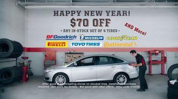 Big O Tires TV Spot, 'New Year's: $70 Off' - Thumbnail 9