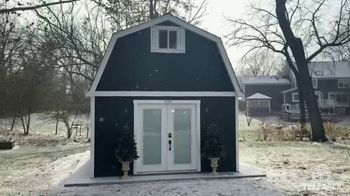 Tuff Shed TV Spot, 'We're Still Building this Winter'