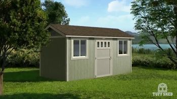 Tuff Shed TV Spot, 'We're Still Building this Winter' - Thumbnail 3