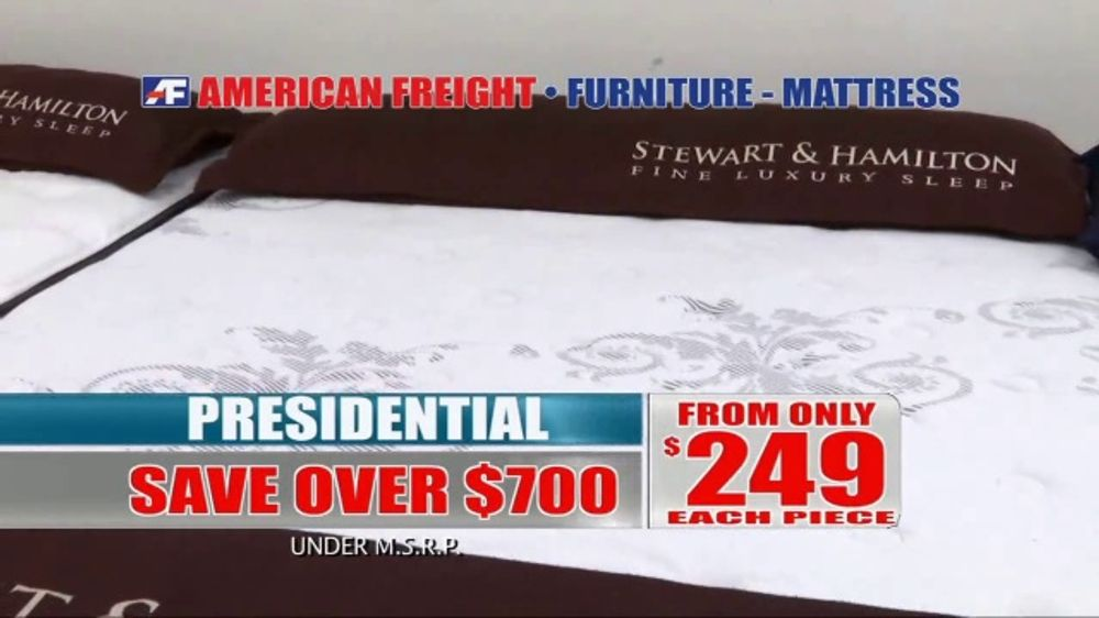 American Freight Tv Commercial Discounted Mattress Sets
