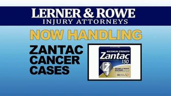 Lerner & Rowe Injury Attorneys TV Spot, 'Car Wrecks Don't Take Weekends Off: Zantac Cancer Cases' - Thumbnail 8