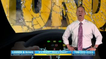 Lerner & Rowe Injury Attorneys TV Spot, 'Car Wrecks Don't Take Weekends Off: Zantac Cancer Cases' - Thumbnail 1