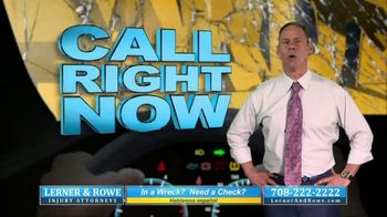 Lerner & Rowe Injury Attorneys TV Spot, 'Car Wrecks Don't Take Weekends Off: Zantac Cancer Cases' - Thumbnail 3