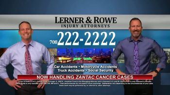 Lerner & Rowe Injury Attorneys TV Spot, 'Car Wrecks Don't Take Weekends Off: Zantac Cancer Cases' - Thumbnail 4