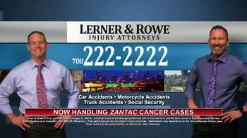 Lerner & Rowe Injury Attorneys TV Spot, 'Car Wrecks Don't Take Weekends Off: Zantac Cancer Cases' - Thumbnail 5