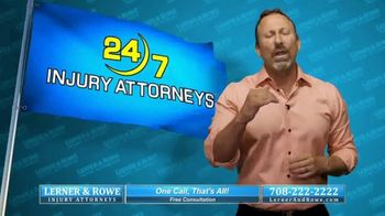 Lerner & Rowe Injury Attorneys TV Spot, 'Car Wrecks Don't Take Weekends Off: Zantac Cancer Cases' - Thumbnail 6