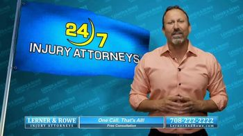 Lerner & Rowe Injury Attorneys TV Spot, 'Car Wrecks Don't Take Weekends Off: Zantac Cancer Cases'