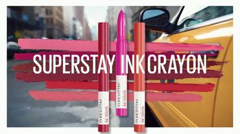 Maybelline New York SuperStay Ink Crayon TV Spot, 'All Day Intensity' Featuring Josephine Skriver - Thumbnail 4