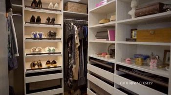 California Closets TV Spot, 'New Year's: Upgrade Your Finish'