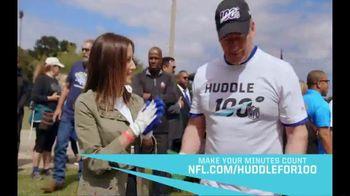 NFL TV Spot, 'Huddle for 100: End of Season' Feat. Josh Jacobs, Patrick Mahomes, Charles Tillman - Thumbnail 6