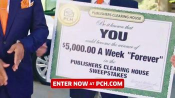 Publishers Clearing House TV Spot, '$5,000: Surprise You'