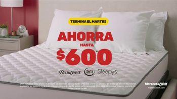 Mattress Firm Venta de Fin de Año TV Spot, 'Base adjustable gratis y ahorra hasta $600' [Spanish]