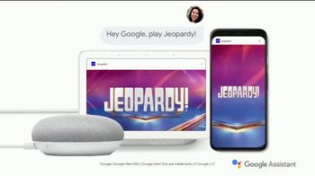 Google Assistant TV Spot, 'Jeopardy! Clue for You: Legendary Host' - Thumbnail 8