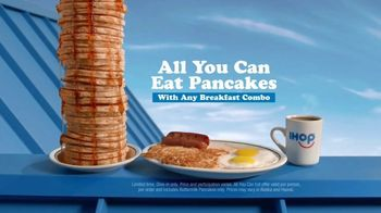 IHOP All You Can Eat Pancakes TV Spot, 'Breakfast Combos' - Thumbnail 8
