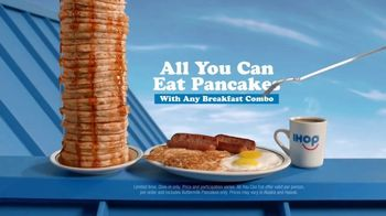 IHOP All You Can Eat Pancakes TV Spot, 'Breakfast Combos' - Thumbnail 5