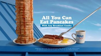 IHOP All You Can Eat Pancakes TV Spot, 'Breakfast Combos' - Thumbnail 6