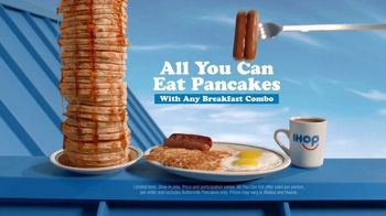 IHOP All You Can Eat Pancakes TV Spot, 'Breakfast Combos' - Thumbnail 7