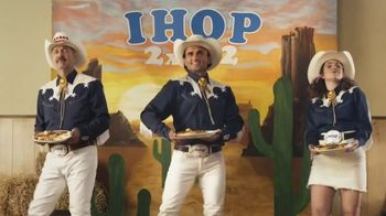 IHOP 2x2x2 Combo TV Spot, \'Two Step\'