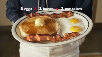 IHOP 2x2x2 Combo TV Spot, 'Two Step' - Thumbnail 3