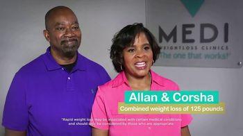Medi-Weightloss TV Spot, 'Allan and Corsha'