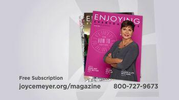 Joyce Meyer Ministries Enjoying Everyday Life Magazine TV Spot, 'At Work' - Thumbnail 10