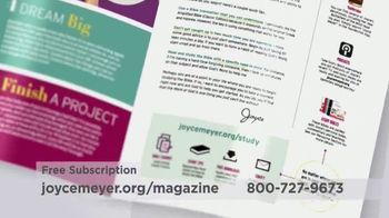 Joyce Meyer Ministries Enjoying Everyday Life Magazine TV Spot, 'At Work' - Thumbnail 3