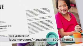 Joyce Meyer Ministries Enjoying Everyday Life Magazine TV Spot, 'At Work' - Thumbnail 4