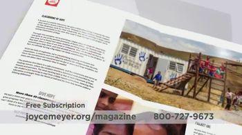 Joyce Meyer Ministries Enjoying Everyday Life Magazine TV Spot, 'At Work' - Thumbnail 7