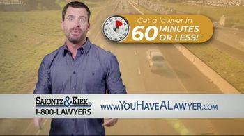 Saiontz & Kirk, P.A. TV Spot, 'Right Away' - Thumbnail 4