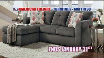 American Freight Warehouse Liquidation TV Spot, 'Mattress Sets, Sofas and Living Rooms' - Thumbnail 10