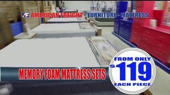 American Freight Warehouse Liquidation TV Spot, 'Mattress Sets, Sofas and Living Rooms' - Thumbnail 3