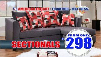 American Freight Warehouse Liquidation TV Spot, 'Mattress Sets, Sofas and Living Rooms' - Thumbnail 4