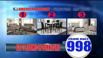 American Freight Warehouse Liquidation TV Spot, 'Mattress Sets, Sofas and Living Rooms' - Thumbnail 7