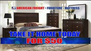 American Freight Warehouse Liquidation TV Spot, 'Mattress Sets, Sofas and Living Rooms' - Thumbnail 8