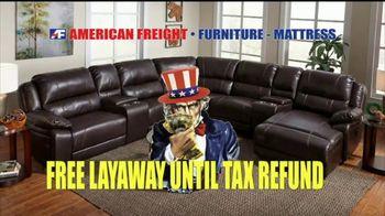 American Freight Warehouse Liquidation TV Spot, 'Mattress Sets, Sofas and Living Rooms' - Thumbnail 9