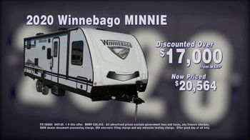 La Mesa RV Blowout Sale TV Spot, '2020 Winnebago Minnie: $17,000 Discount'