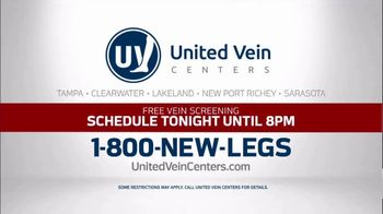 United Vein Centers TV Spot, 'We All Went to United Vein Center: Schedule Tonight' - Thumbnail 7
