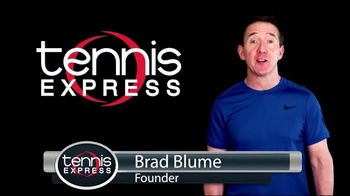 Tennis Express TV Spot, 'Product Reviews, Customer Service, Free 2-Day Shipping'