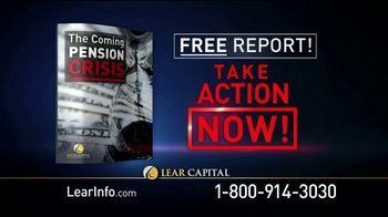 Lear Capital TV Spot, 'Retirement: The Coming Pension Crisis'